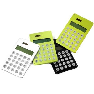 Calculatrice solaire Alucolor