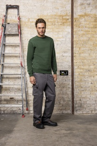 Sweat-shirt workwear unisexe 280 grs Sol's - Steel Pro