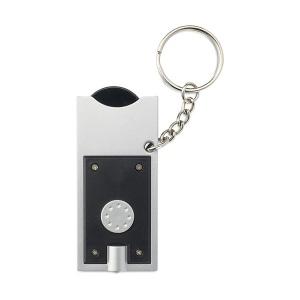 Porte-clés torche LED jeton  Denver