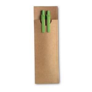 Parure crayon-stylo bille Greenset