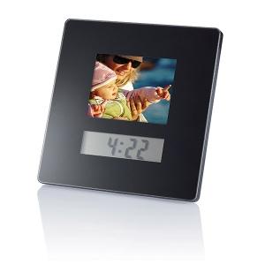 Cadre photo digital 3,5 inch/réveil