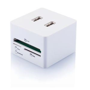 Cube USB et lecteur de carte