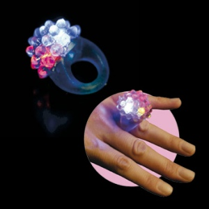 Bague lumineuse clignotante