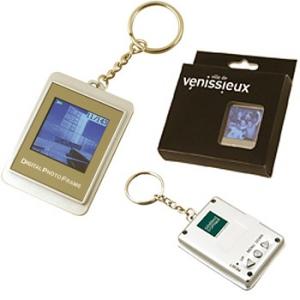 Porte-clés cadre photo numérique