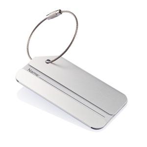 Porte-étiquette en aluminium