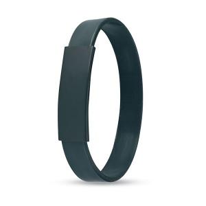 Bracelet métallique/silicone