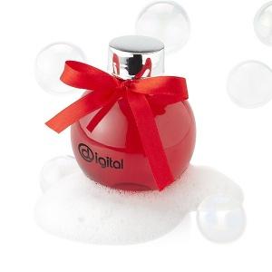Gel douche dans sa boule de Noël