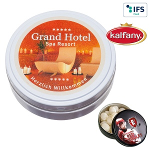 "Boîte ""Black or White"" avec bonbons aux fruits Kalfany"