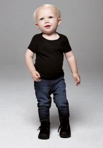 Tee-shirt bébé manches courtes Bella Canvas