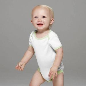 Body bébé contrasté Bella Canvas