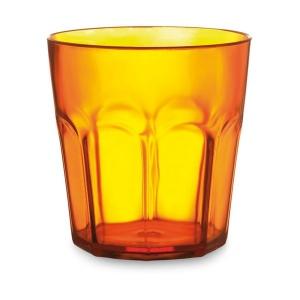 Grand verre droit plastique