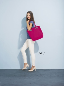 Sac shopping en canvas - CHIC