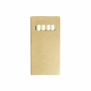 CHUCK - Boîte de 6 crayons de couleur