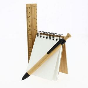 STUDY - Set bureau bambou format A7