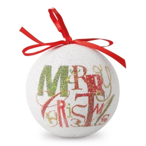 Boule de Noël nacrée
