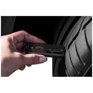 Porte-clé mesureur de bande de roulement de pneu et torche Chicane