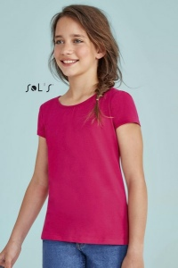 Tee-shirt fillette  MELODY - couleur