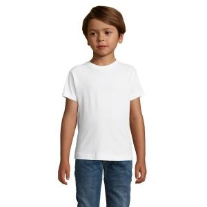 Tee-shirt enfant col rond  REGENT FIT KIDS - blanc