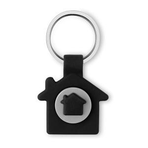 Porte-clés maison et jeton