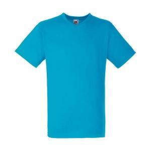 T-shirt col en V-Blanc