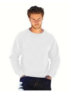 Sweatshirt raglan-Blanc