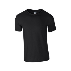 T-shirt ring spun Gildan 64000-Blanc