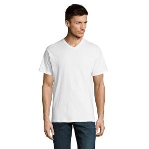 T-Shirt col V blanc 150 g SOL'S - Victory