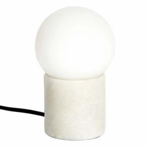 Marble Table Lamp White - Habitat