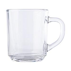 Mug en verre d'une contenance de 0.26 l.