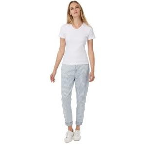 5dda66f087321 T-shirt femme col v watch women - B C