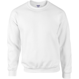 Sweatshirt manches droites blanc Gildan