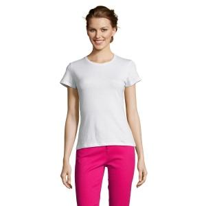 T-Shirt femme manches courtes blanc 150 g SOL'S - Miss