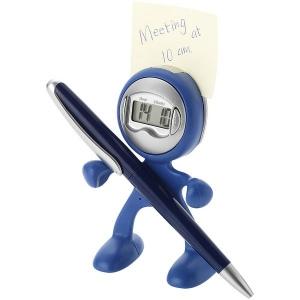 Horloge flexible avec alarme/multifonctions/porte-mémo