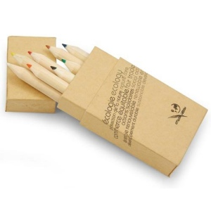 Boite de 8 crayons de couleur Alegria01