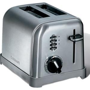 Toaster acier 2T Cuisinart