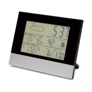 Horloge de bureau station météo Edwin