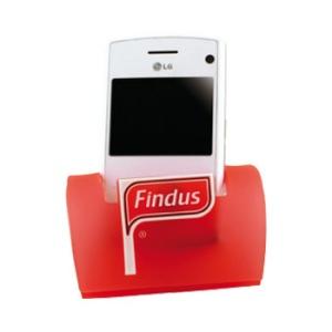 Porte-téléphone PVC souple avec diode