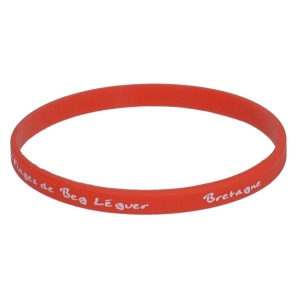 Bracelet silicone fin