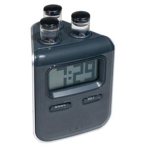Horloge LCD à eau